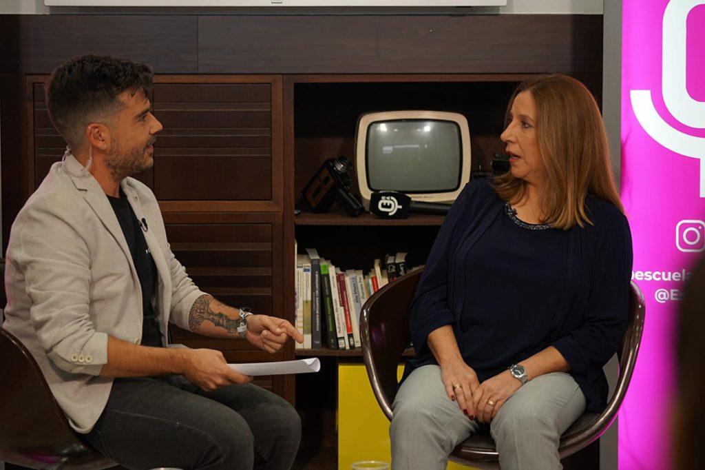 Entrevista a Eva Casanueva, madre de Marta del Castillo, en la Escuela de Reporteros de Andalucía