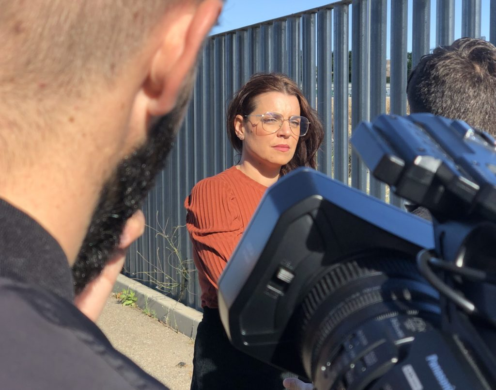 Verónica Andreu entrevistada por Tania Montes