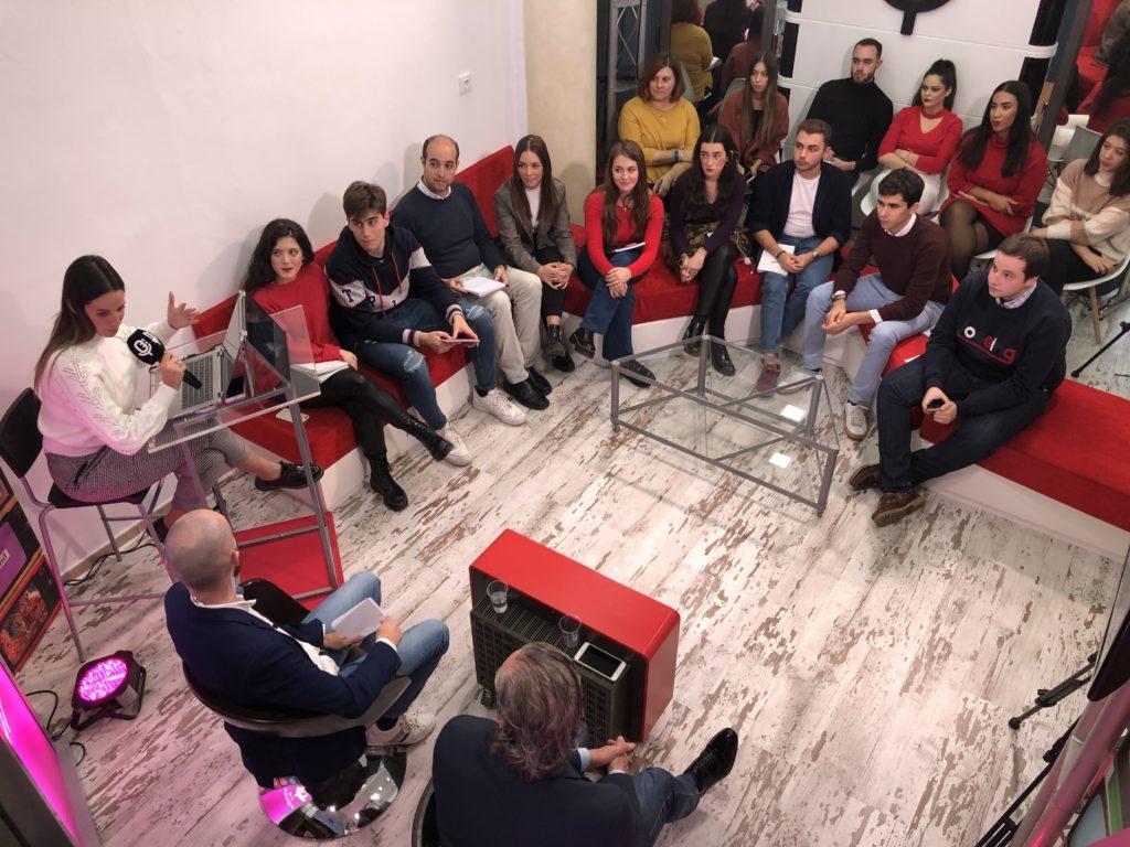 Alumnos de la Escuela de Reporteros de Andalucía